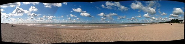 Port Stanley Beach Panorama