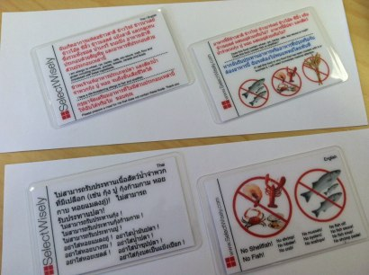 Thai translation cards from SelectWisely.com