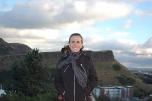 Erin Smith, the Gluten-Free Globetrotter, in Edinburgh, Scotland 3013