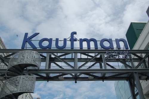 Entrance to the back lot of Kaufman Astoria Studios