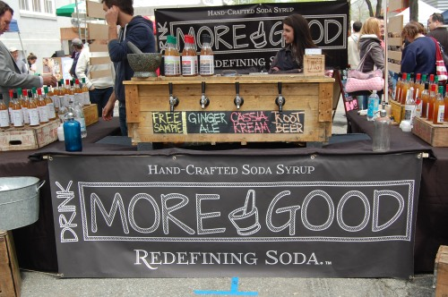 Drink More Good hand-crafted soda syrup