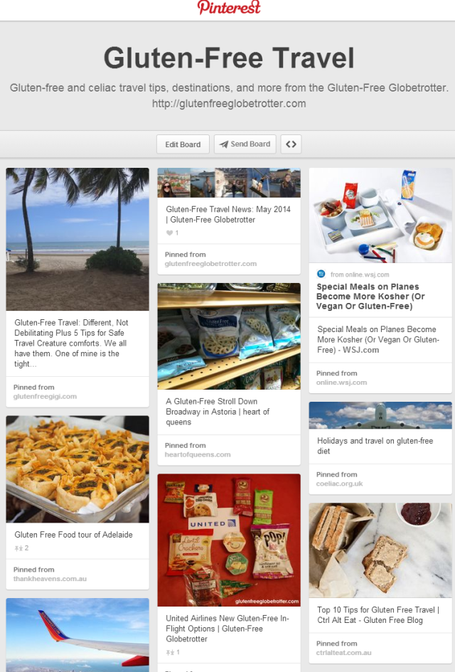 Find Gluten-Free Globetrotter now on Pinterest.