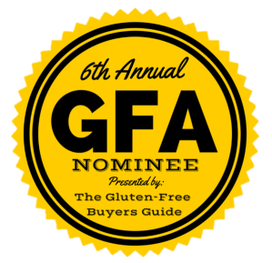 6th Annual Gluten-Free Awards Nominee