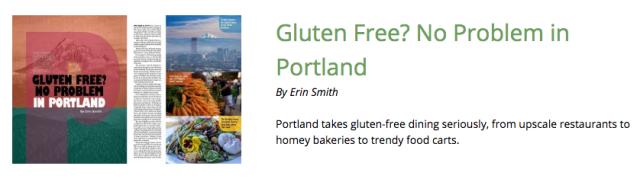 Gluten-Free Living Portland