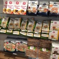 Tons of gluten-free pasta