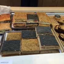 Patchwork of beautiful gluten-free breads