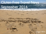 Gluten-Free Travel News September 2016