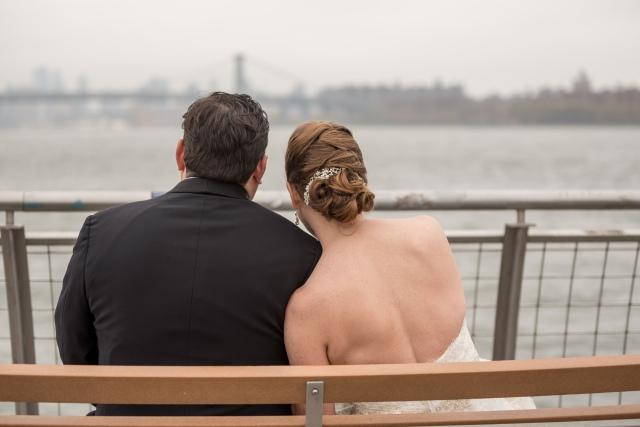 Enjoying views of Brooklyn, NYC