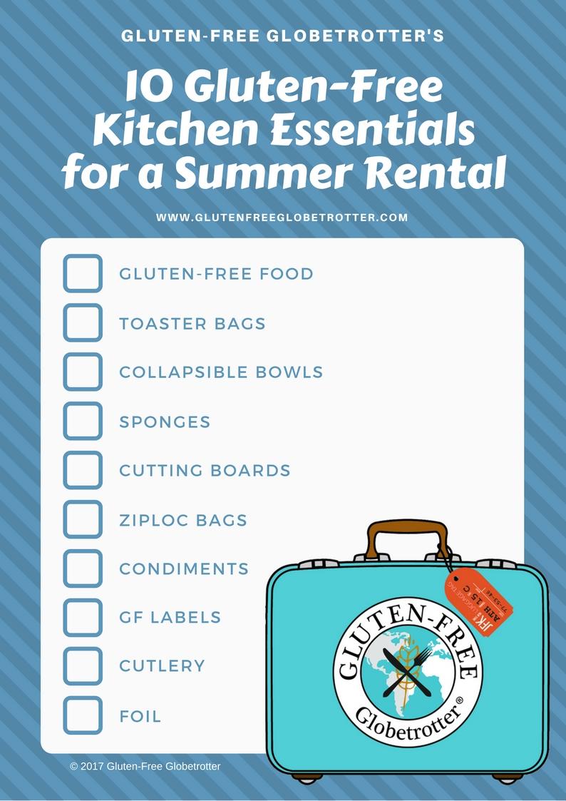 10 Gluten-Free Kitchen Essentials for a Summer Rental | Gluten-Free ...