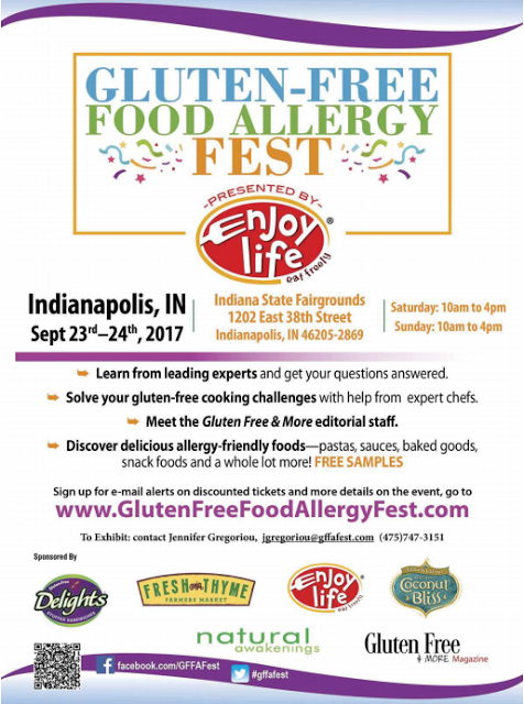 Indianapolis Gluten-Free Food Allergy Fest