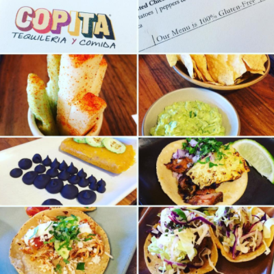 Everything is 100% gluten-free at Copita Tequileria