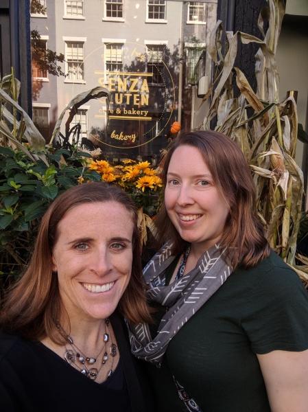 Erin and Laura, aka Midwestern Celiac